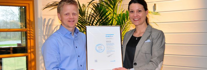 Fjorborg erhält erneut das CrefoZert-Bonitätszertifikat