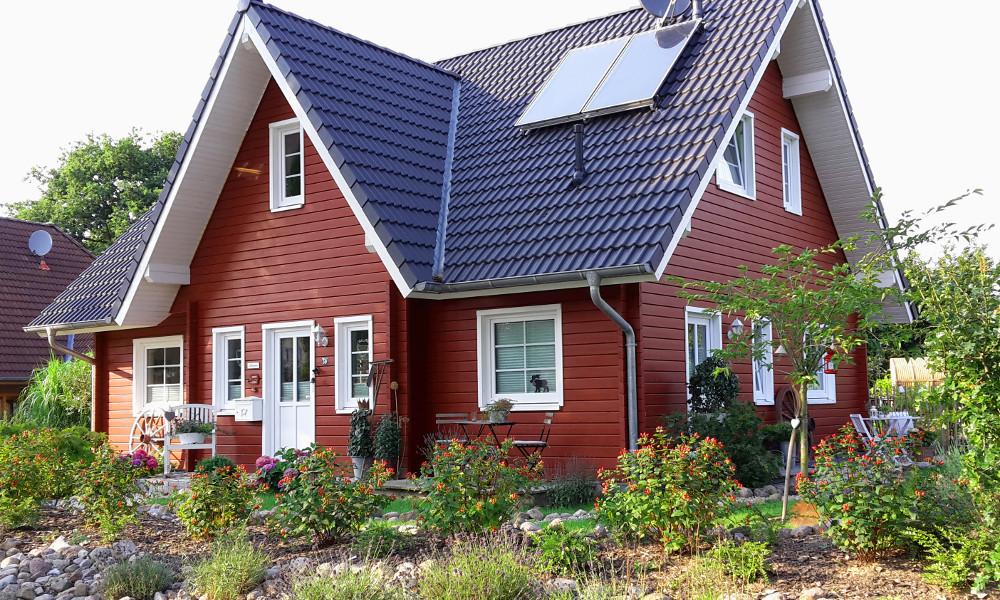 Fjorborg-Holzhaus zweigeschossig - Eigener Entwurf - BV 6039