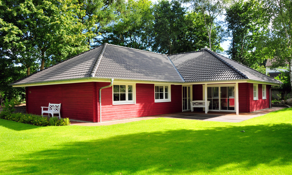Holzhaus Kalmar ebenerdig - BV 6226