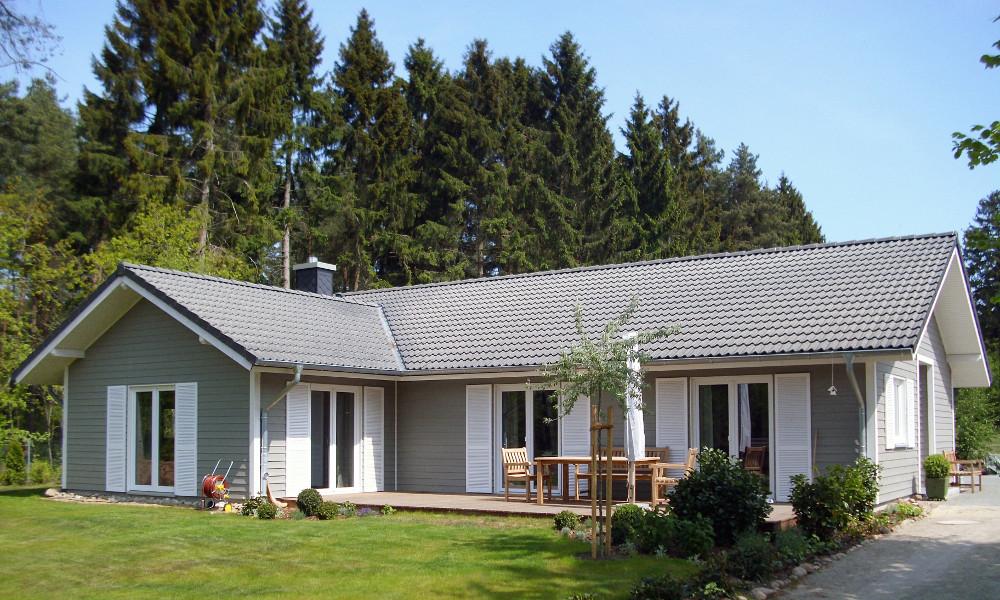 Fjorborg-Holzhaus eingeschossig - Eigener Entwurf - BV 5466