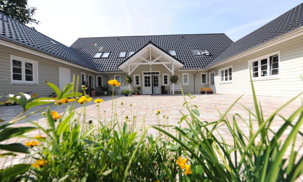 Zweigeschossiges Fjorborg-Holzhaus - Eigener Entwurf - BV 5777