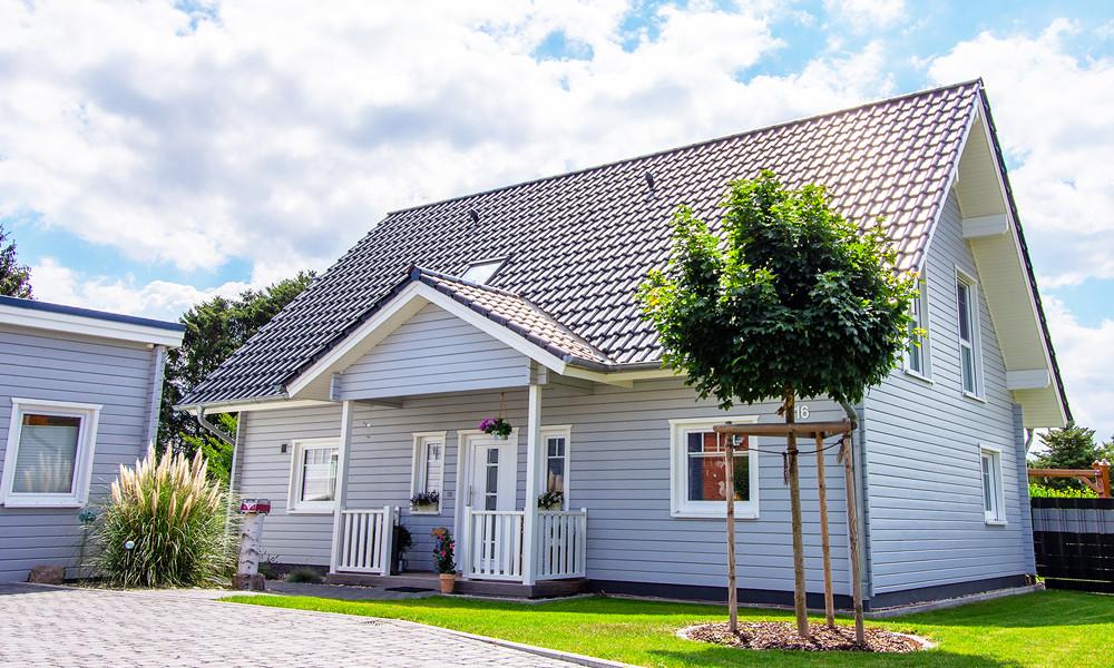 Fjorborg Häuser - 1,5 geschossiges Holzhaus - eigener Entwurf - BV6904