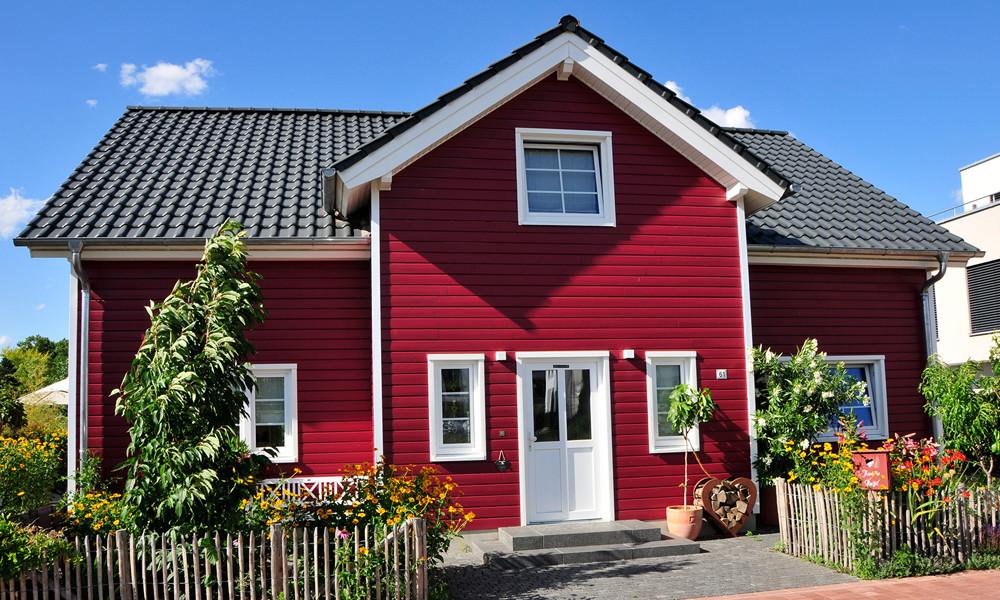 Fjorborg Häuser - 1,5 geschossiges Holzhaus - Haustyp Goeteborg - BV7006