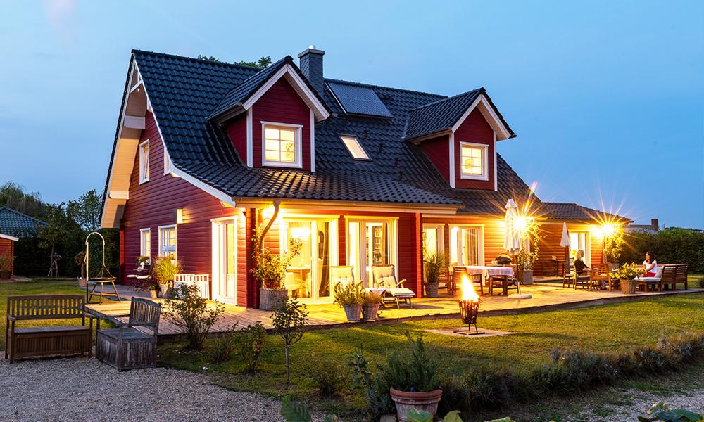 Fjorborg-Holzhaus – 1,5 geschossiges Holzhaus – Haustyp Helsingoer – BV 6638