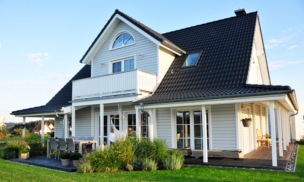 Fjorborg-Holzhaus – 1,5 geschossiges Holzhaus – Haustyp Helsingör – BV 6827