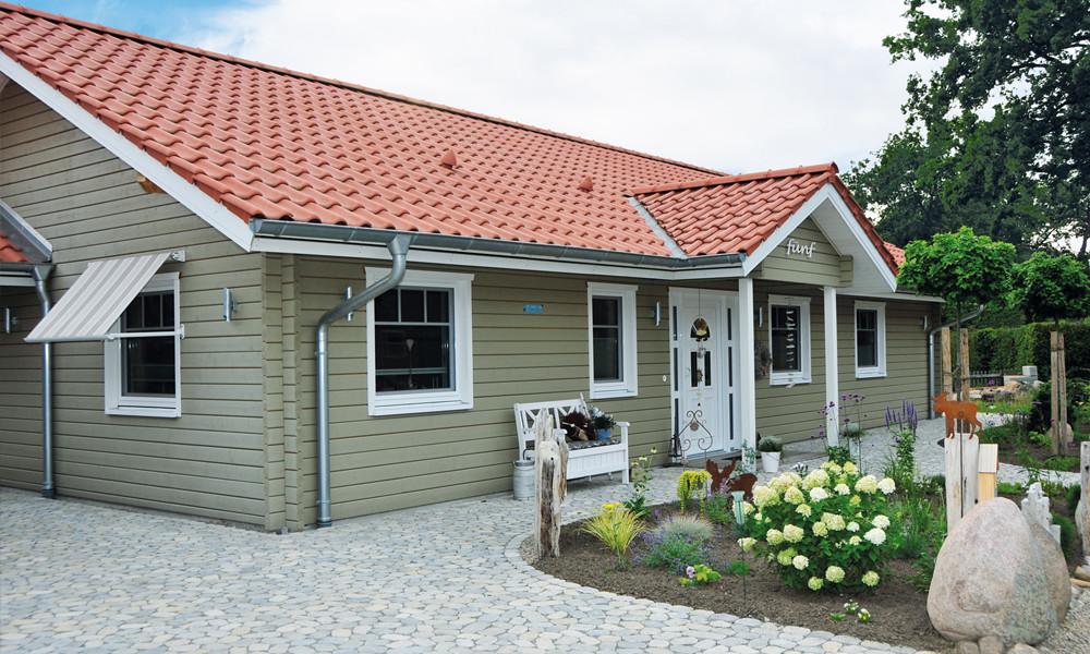 Fjorborg-Holzhaus – ebenerdig Haus – BV6717