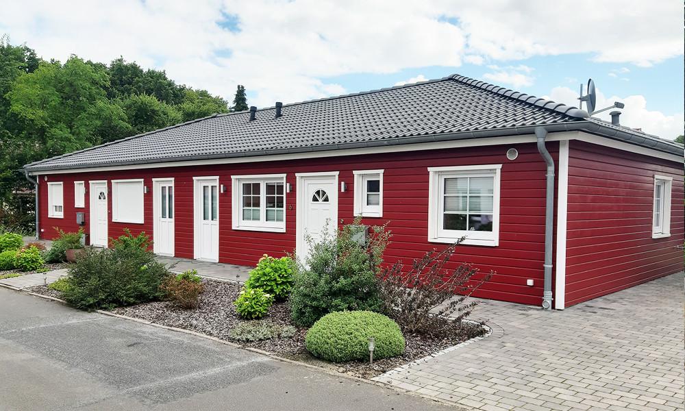Fjorborg Häuser - ebenerdig Holzhaus - BV6908