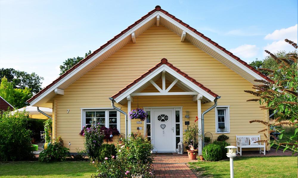 Fjorborg Häuser - ebenerdig Holzhaus - eigener Entwurf - BV6120