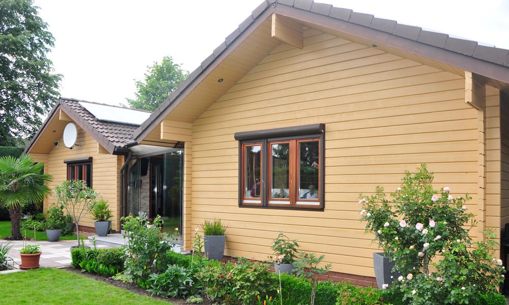 Fjorborg-Holzhaus – ebenerdiges Holzhaus – BV 4513