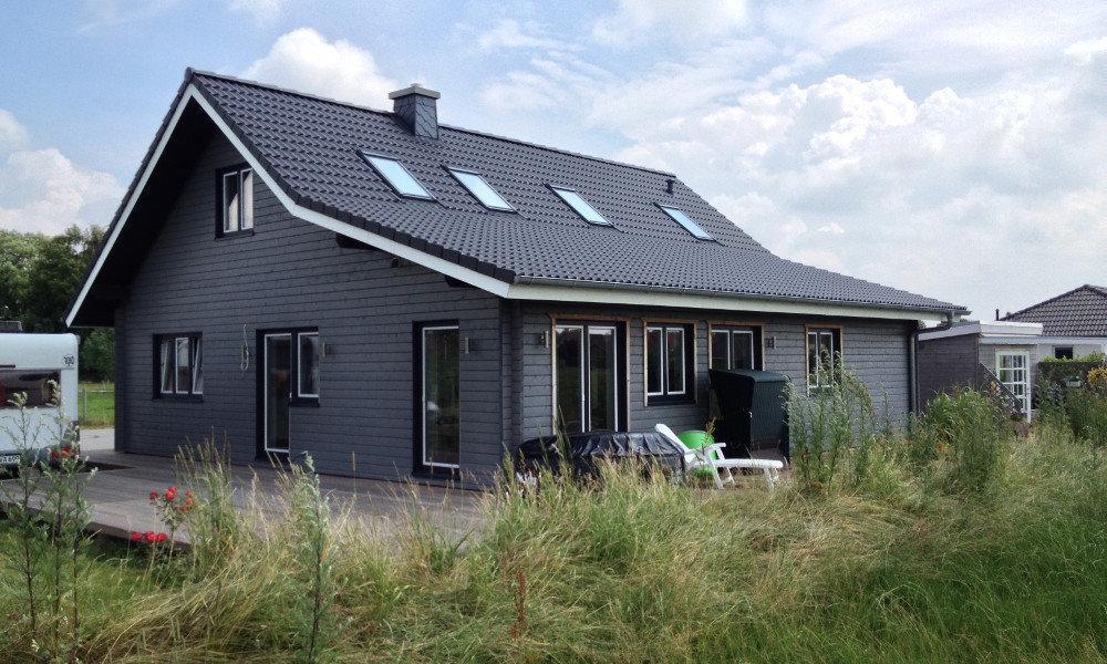 Fjorborg-Holzhaus - ebenerdiges Haus - Eigener Entwurf - BV 5918