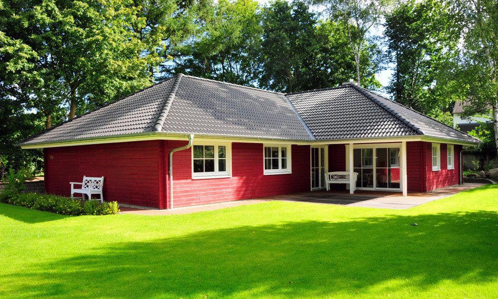 Fjorborg-Holzhaus - ebenerdiges Haus - Haustyp Kalmar - BV 6226