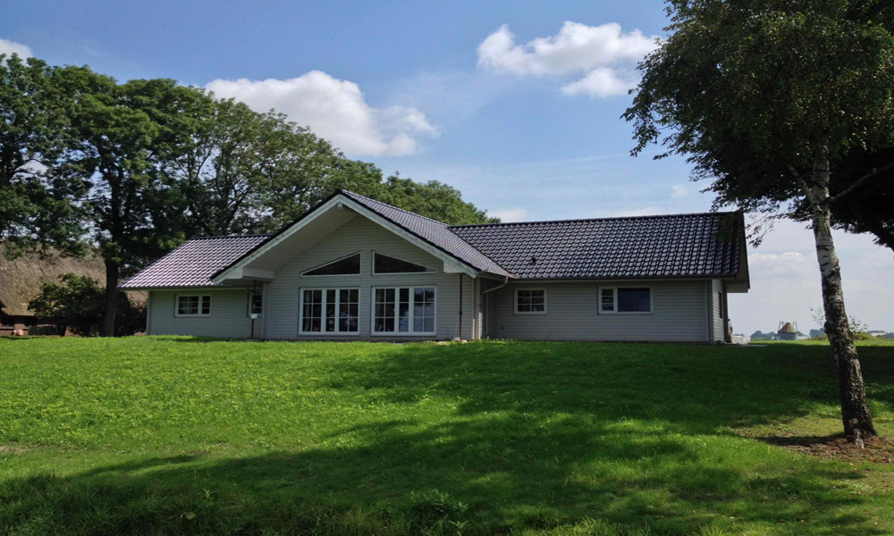 Fjorborg-Holzhaus - ebenerdiges Haus - Haustyp Nyborg - BV 5126