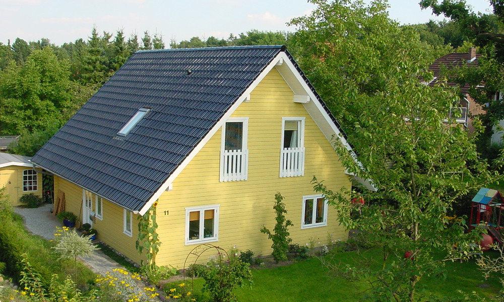 Fjorborg-Holzhaus - zweigeschossiges Haus - Eigener Entwurf - BV 3173