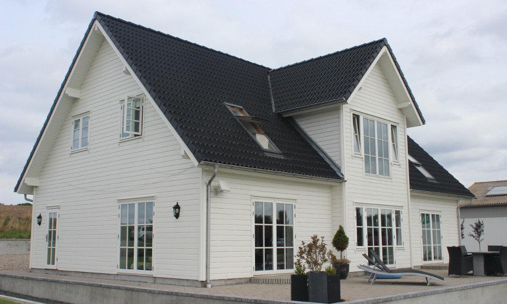 Fjorborg-Holzhaus - zweigeschossiges Haus - Eigener Entwurf - BV 4396