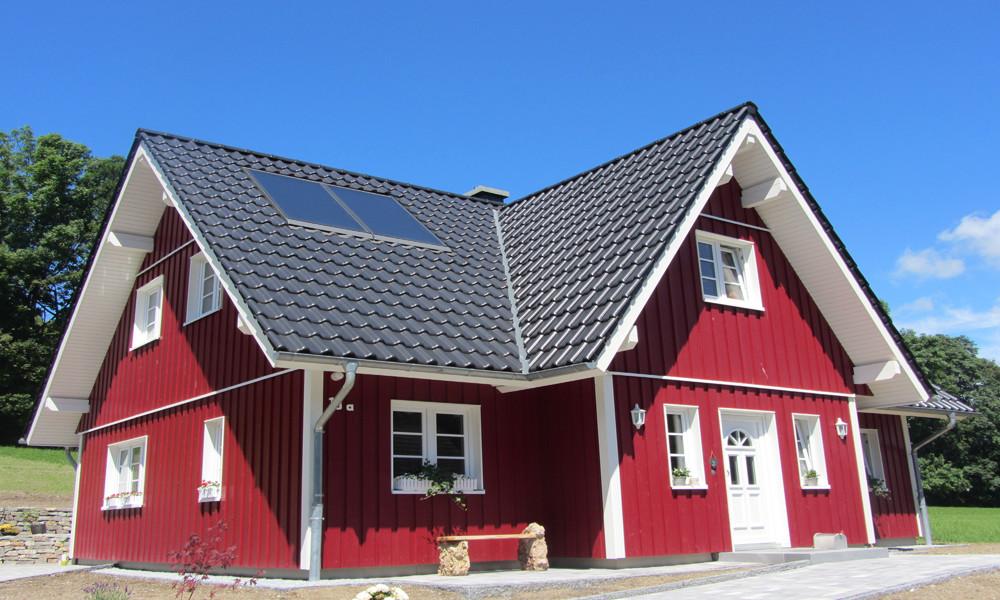 Fjorborg-Holzhaus - zweigeschossiges Haus - Haustyp Göteborg - BV 5985
