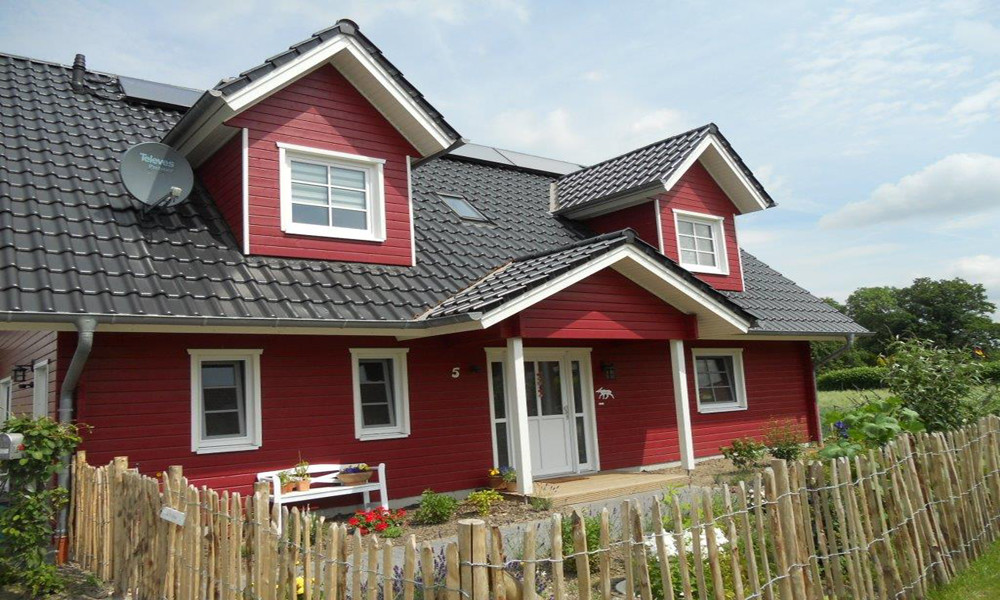 Fjorborg-Holzhaus - zweigeschossiges Haus - Haustyp Helsingör - BV 5961