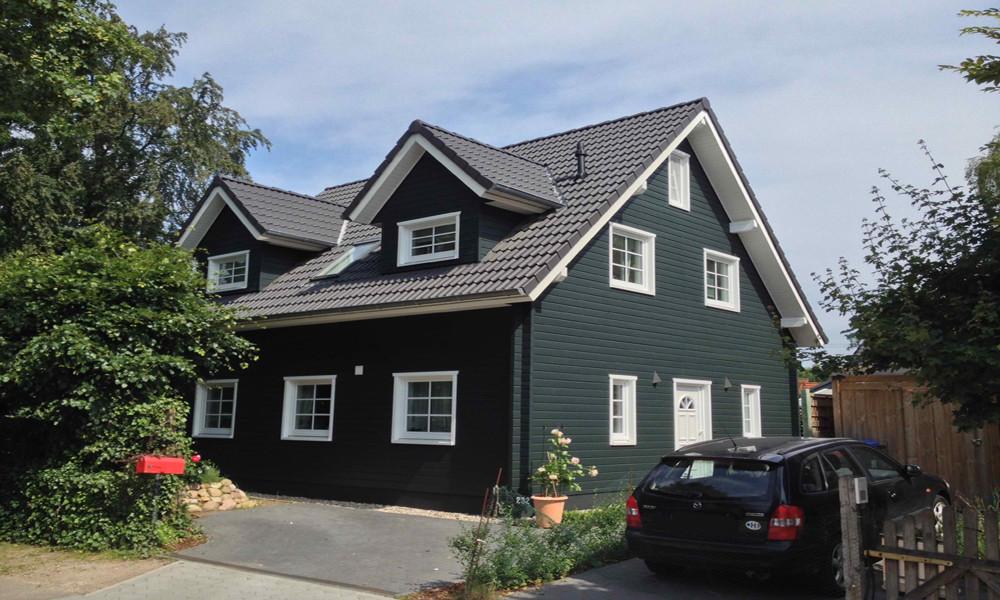 Fjorborg-Holzhaus - zweigeschossiges Haus - Haustyp Holbäk - BV 5942