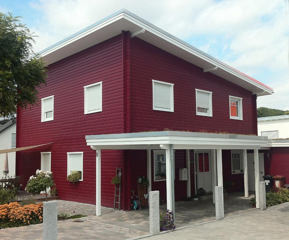 Fjorborg-Holzhaus - zweigeschossiges Haus - Haustyp Sonderborg - BV 5810