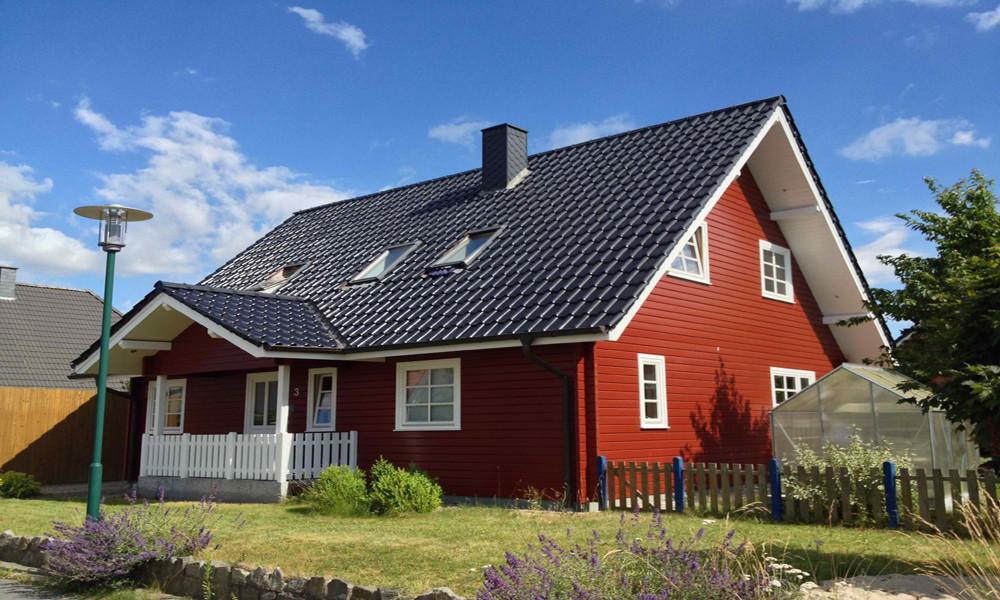 Fjorborg-Holzhaus - zweigeschossiges Haus - Haustyp Svendborg - BV 2358