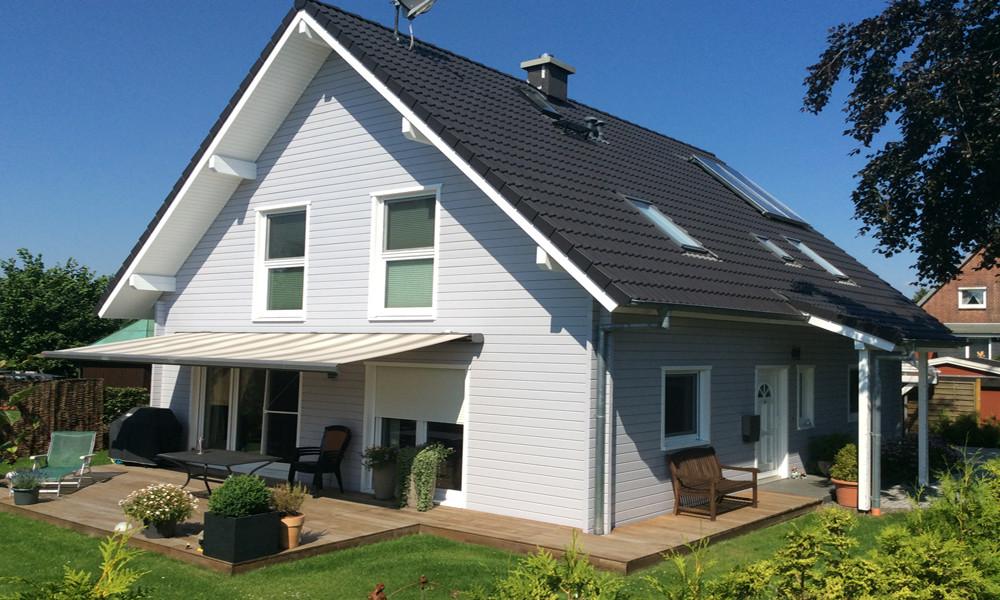 Fjorborg-Holzhaus - zweigeschossiges Haus - Haustyp Svendborg - BV 5700