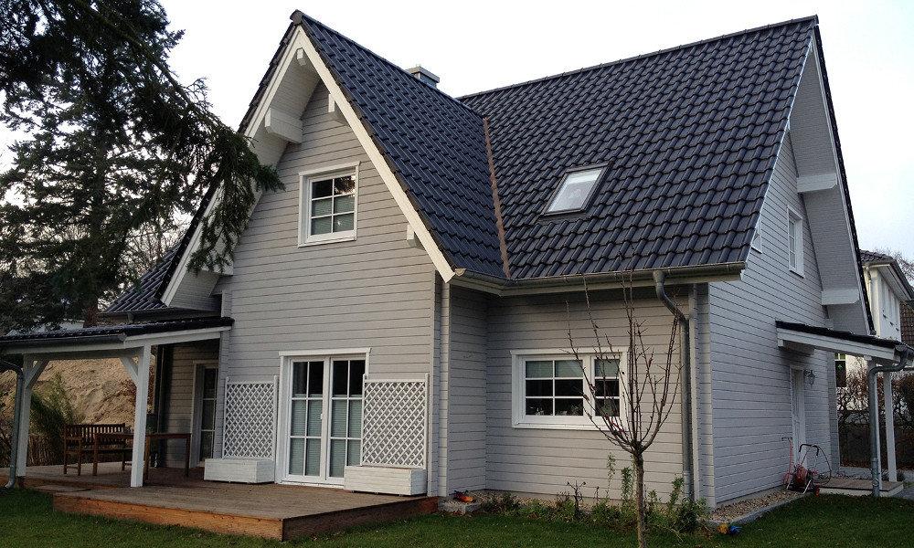 Fjorborg-Holzhaus - zweigeschossiges Haus - Haustyp Svendborg - BV 5979