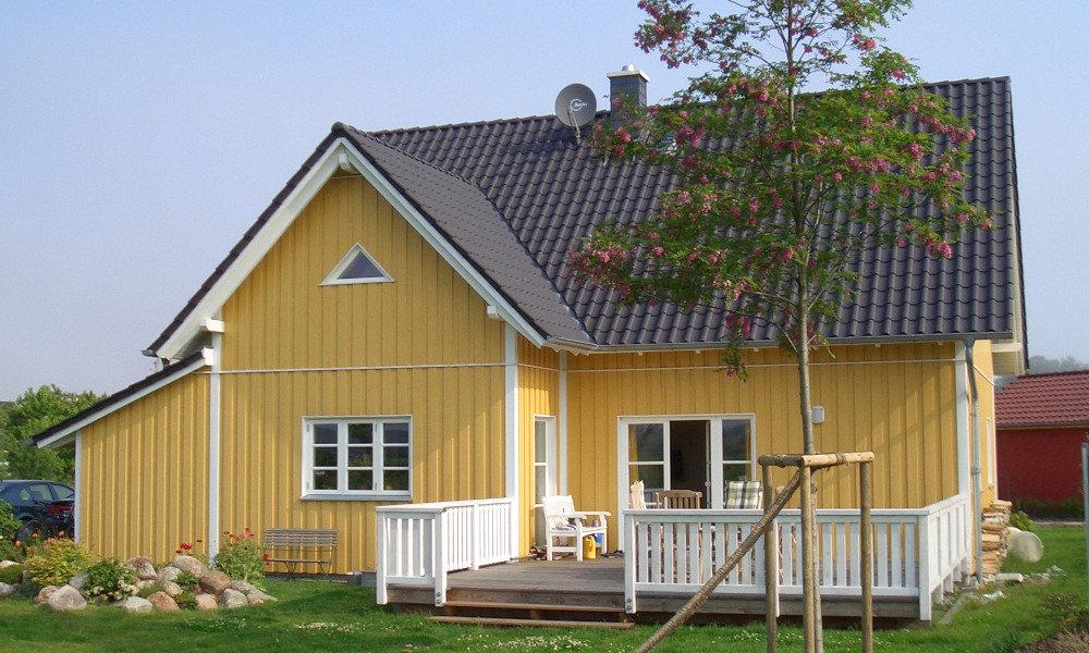 Fjorborg-Holzhaus - zweigeschossiges Haus - Eigener Entwurf - BV 3617