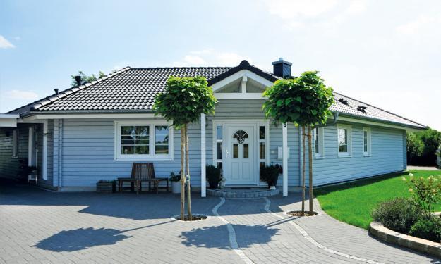 Fjorborg Häuser - Haustyp Aarhus - ebenerdiges Holzhaus - BV7333