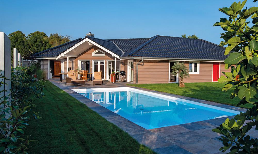 Fjorborg-Holzhaus – ebenerdiges Haus – Haustyp Lillehammer – BV 6830
