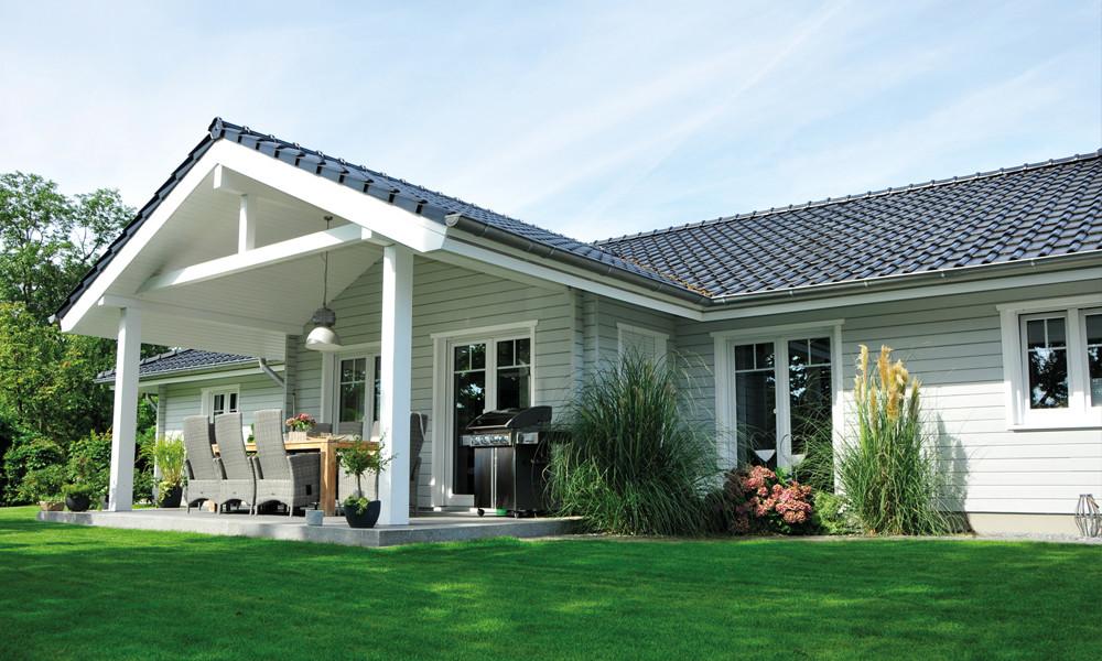 Fjorborg-Holzhaus – ebenerdiges Haus – Haustyp Nordby – BV6282