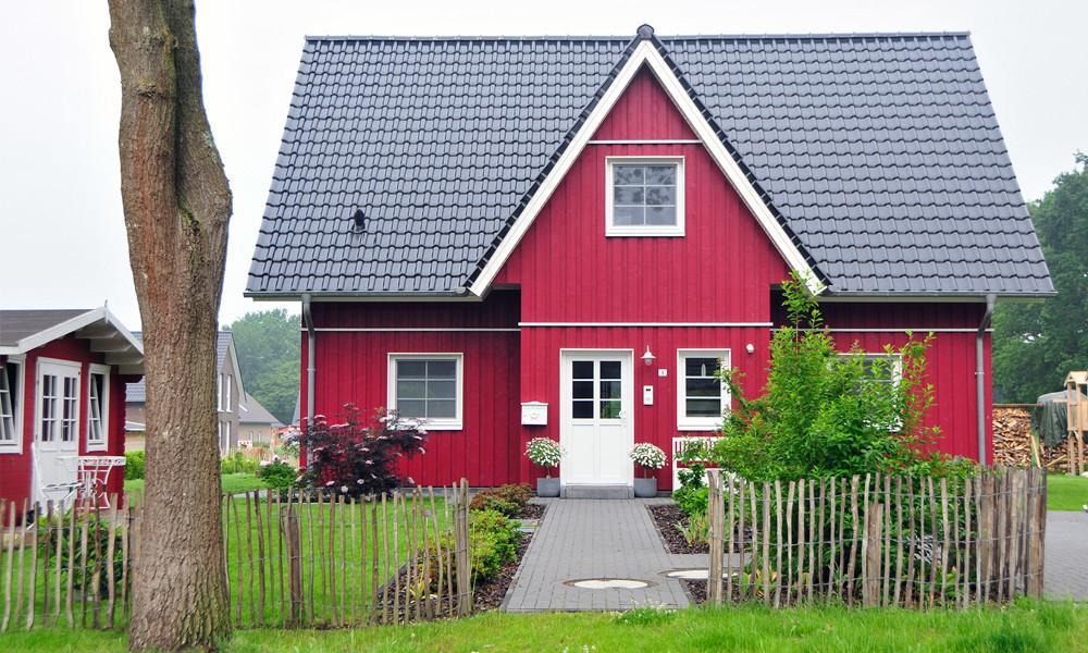 Fjorborg-Holzhaus – zweigeschossiges Haus - Eigener Entwurf – BV 6458