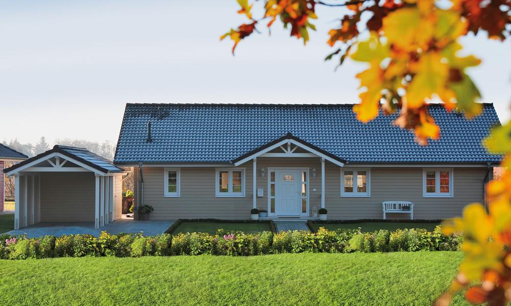 Fjorborg-Holzhaus ebenerdig - Eigener Entwurf - BV 6533