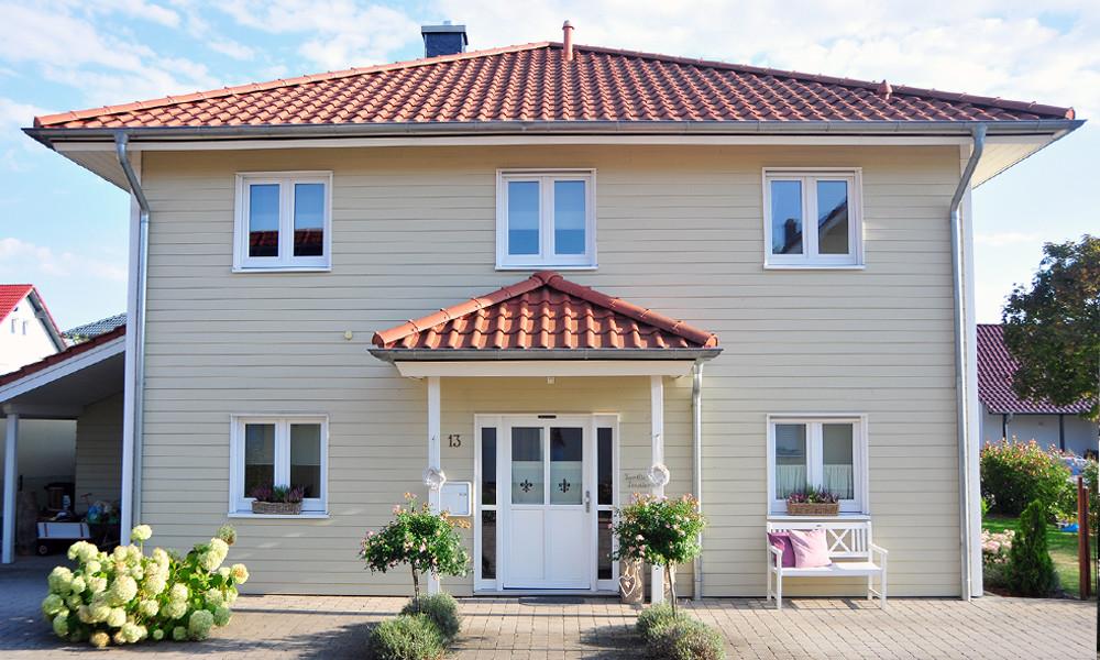 Fjorborg-Holzhaus - zweigeschossiges Holzhaus - Haustyp Sonderborg - BV 5358