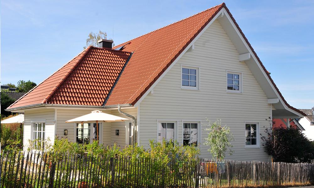 Fjorborg-Holzhaus - zweigeschossiges Holzhaus - Haustyp Stockholm - BV 6218