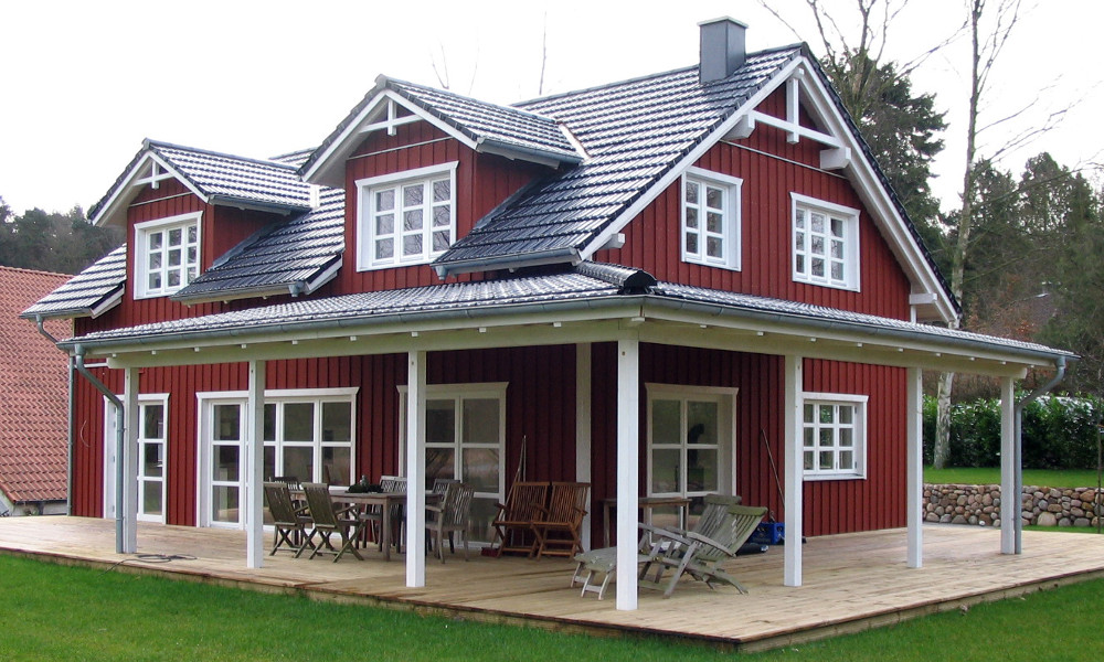 Zweigeschossiges Schwedenhaus - BV 4237