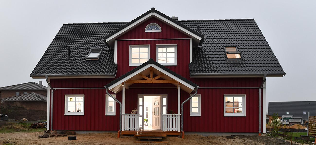 Holzhaus Bausatz - Fjorborg Holzhäuser