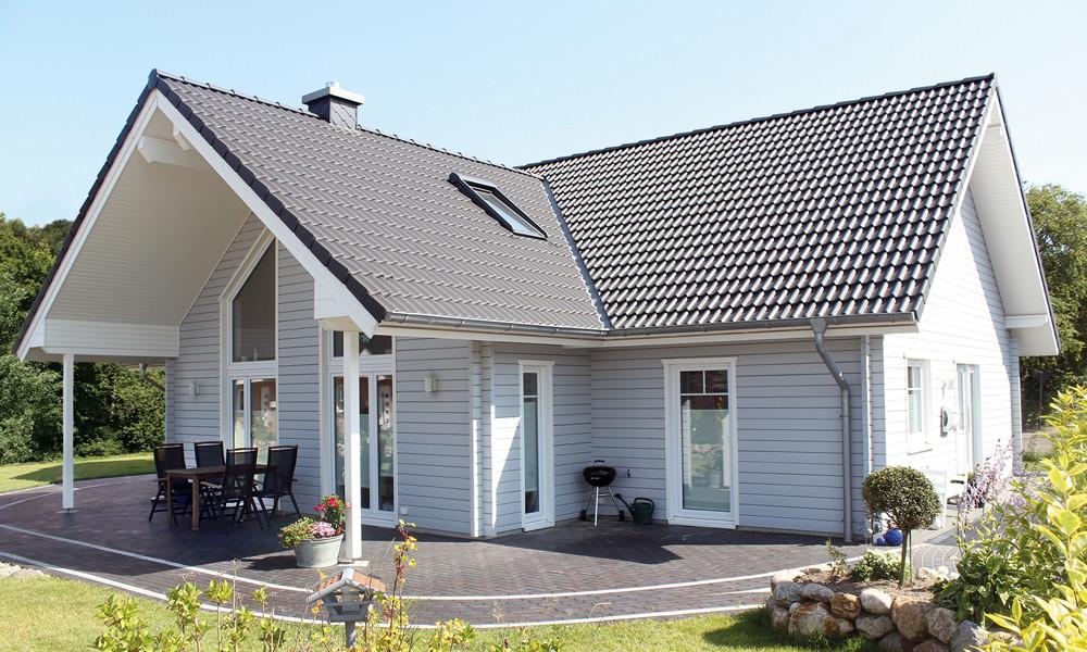 Fjorborg Holzhaeuser - Haustyp Anholt - Ebenerdig - BV 6103