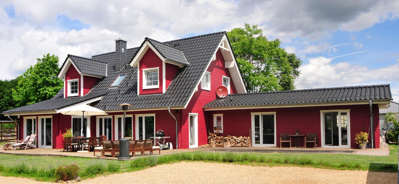 Fjorborg Holzhaeuser - zweigeschossige Holzhaeuser