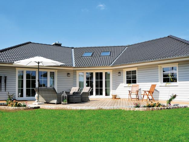 Fjorborg Holzhäuser - ebenerdiges Haus - Haustyp Aarhus - BV6653 - Internet