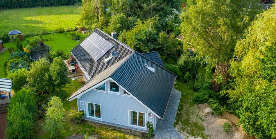 Fjorborg Haeuser - Wohntraum - PLUSenergiehaus - ebenerdiges Holzhaus - Energieffizent