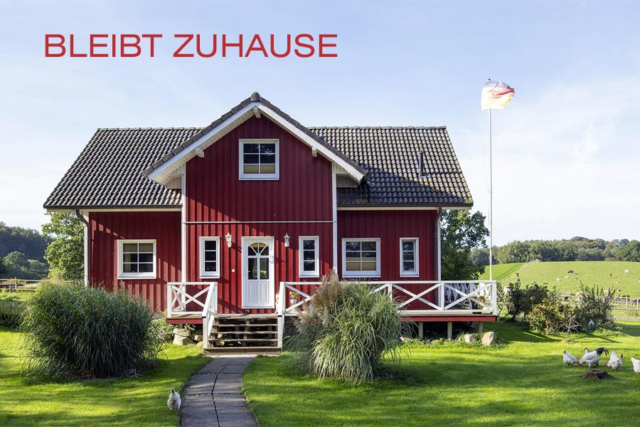 Fjorborg Holzhaeuser - News Convid-19 - bleibt zuhause