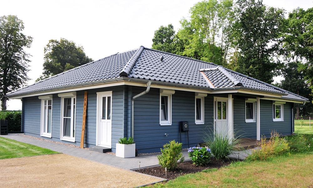 Fjorborg Holzhäuser - ebenerdiges - Holzhaus - BV 7142 - Haustyp Korsoer - Fjorborg Holzhäuser - Internet