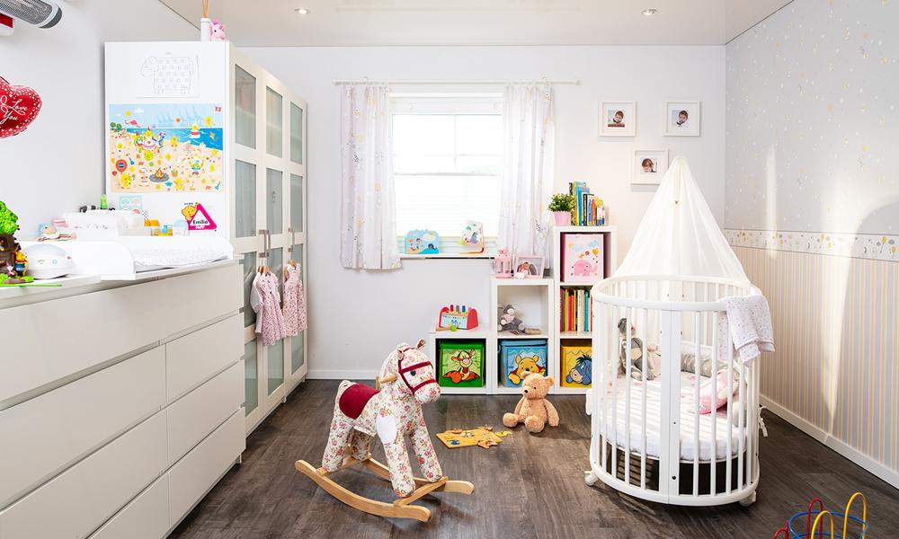 Fjorborg Häuser – ebenerdiges Holzhaus – Kinderzimmer – BV6084