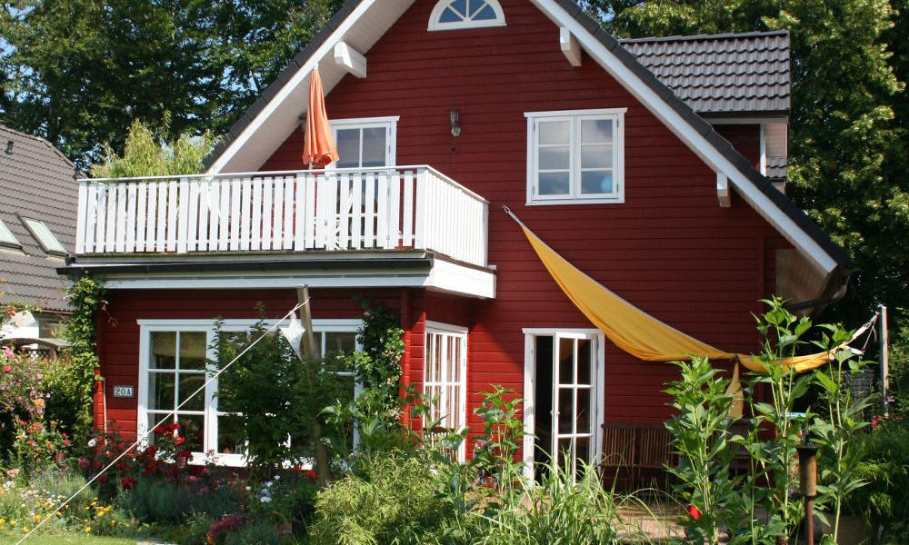 Fjorborg-Holzhaus - zweigeschossiges Haus - Eigener Entwurf - BV 4230