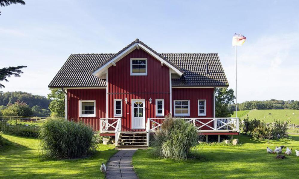 Fjorborg-Holzhaus - Haustyp Göteborg - zweigeschossiges Haus -  BV 4803