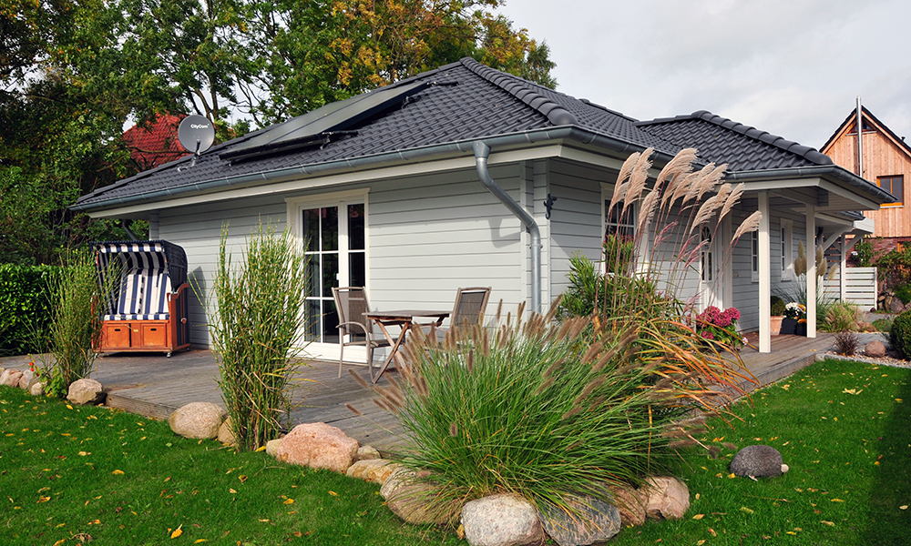 Fjorborg-Holzhaus ebenerdig - Haustyp Trelleborg - BV 6597