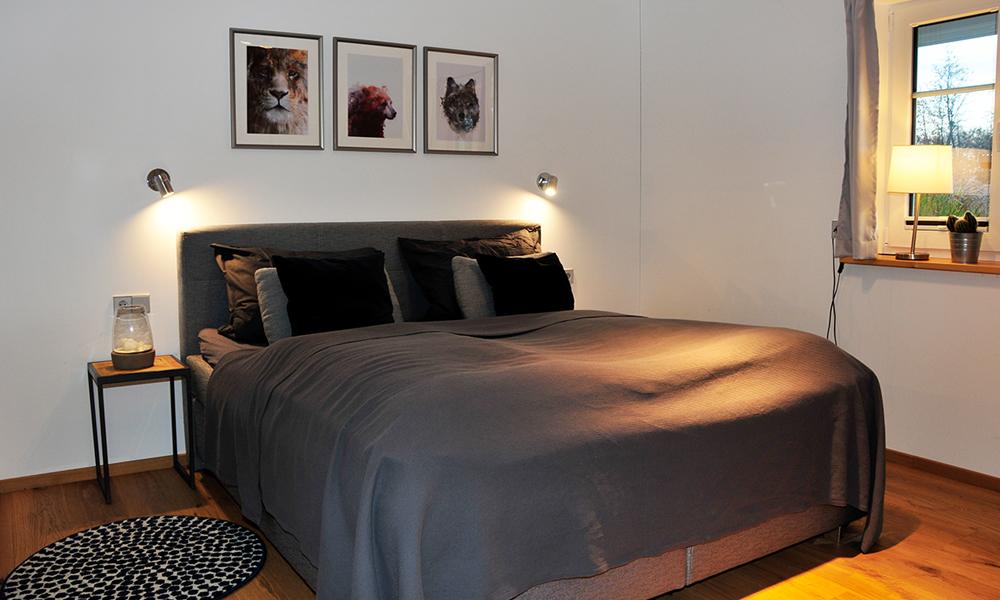Fjorborg Häuser – ebenerdiges Holzhaus – Eigener Entwurf – Schlafzimmer - BV7004