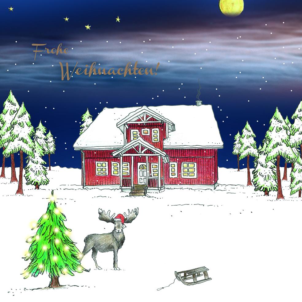 Fjorborg Weihnachtskarte 2020