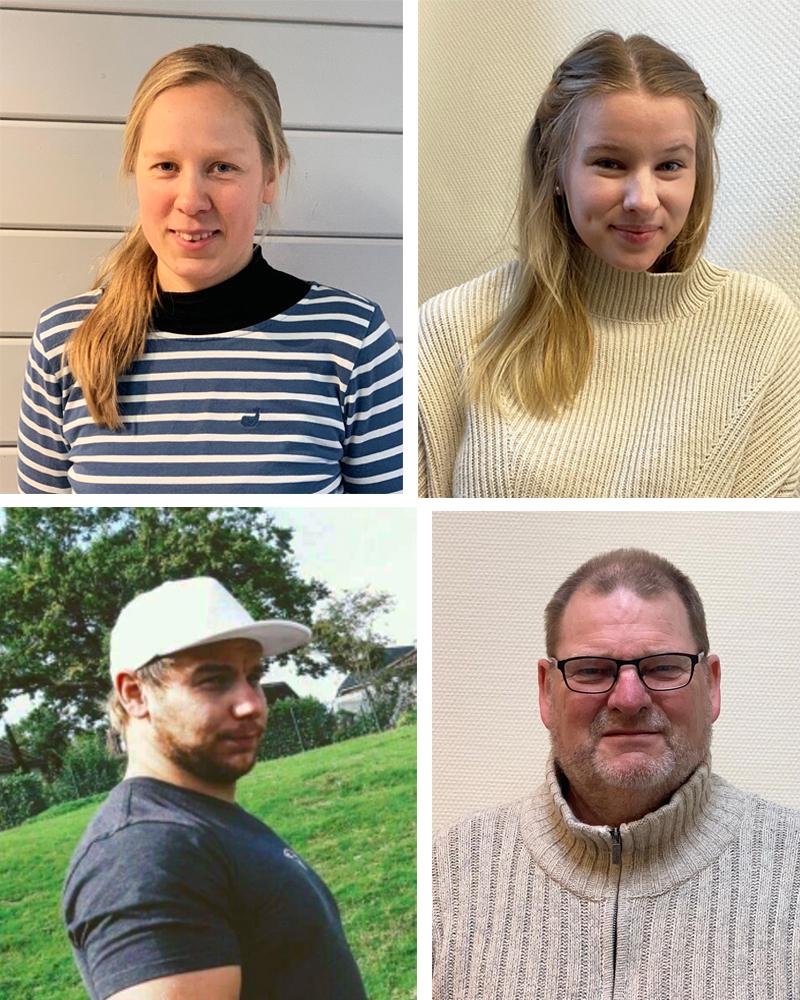 Neue Fjorborg-Mitarbeiter in allen Bereichen