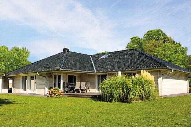 Fjorborg Holzhaeuser - Haustyp Kalmar - ebenerdiges Haus - BV5903