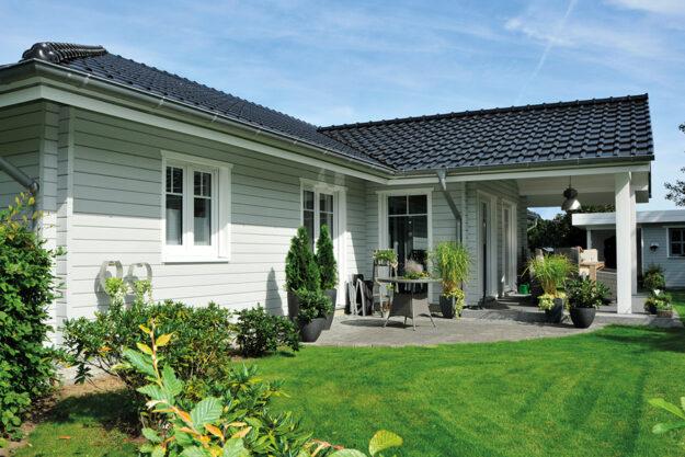Fjorborg Holzhaeuser - Haustyp Nordby - ebenerdiges Haus - BV6282 - Internet